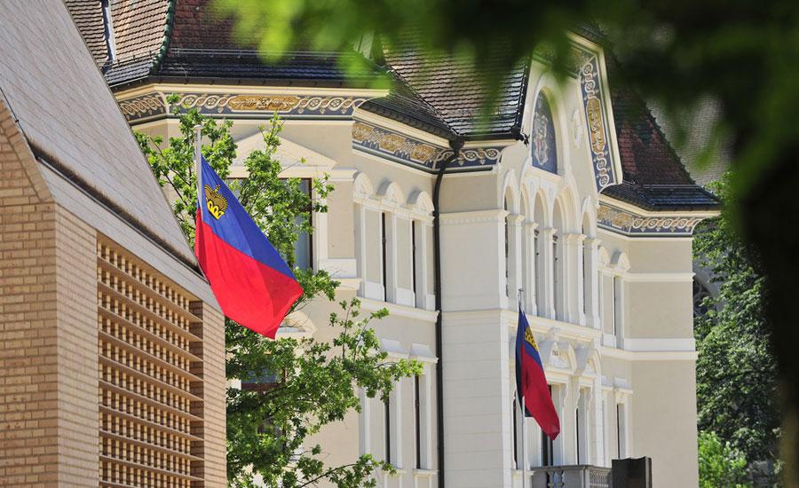 Landtag und Regierungssitz Liechtenstein